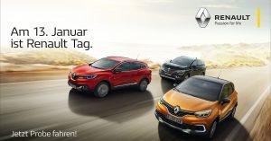 Am 13. Januar 2018 ist Renault tag