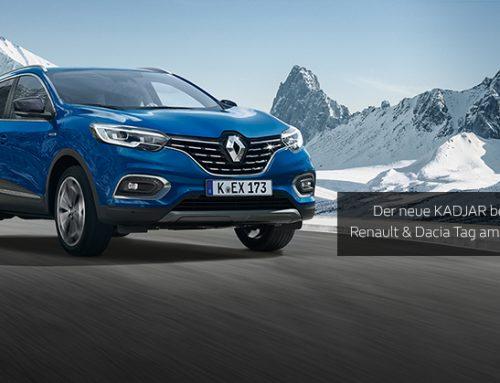 Der große Renault- & Dacia-Tag am 12. Januar 2019