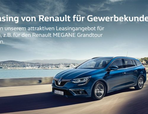 Power Leasing für Gewerbekunden von Renault