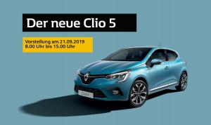 Der neue Clio - ab 21.09.2019 bei Autohaus Beisswänger Reutlingen