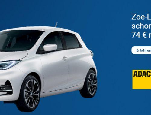 Renault ZOE mit ADAC flex Leasing