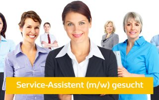 Service-Assistent-gesucht