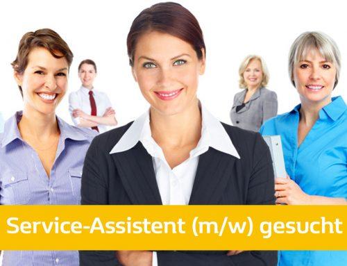 Service-Assistent (m/w) in Vollzeit gesucht – ab sofort!
