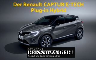 Der Renault CAPTUR E-TECH Plug-in Hybrid