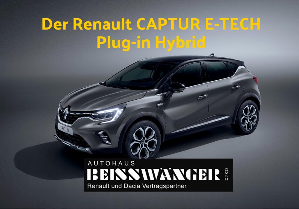 Der Renault CAPTUR E-TECH Plug-in Hybrid