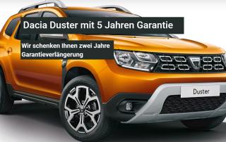 Dacia Duster 5 Jahre Garantie
