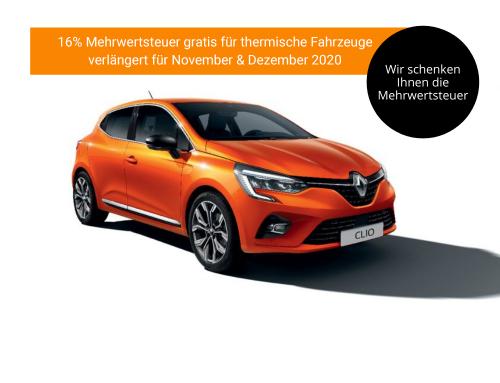 16% Mehrwertsteuer gratis für thermische Fahrzeuge – verlängert für Nov. & Dezember