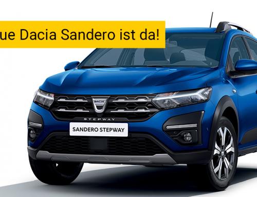 Der neue Dacia Sandero Stepway ist da