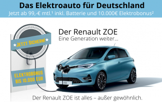 ZOE - Das Elektroauto für Deutschland