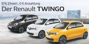 Renault Twingo 0 % Zinsen 0 € Anzahlung