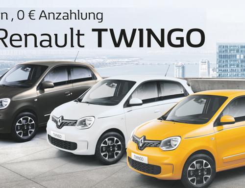 Der Renault TWINGO – 0 % Zinsen, 0 € Anzahlung, 98€ mtl. Aktion verlängert solange Vorrat reicht