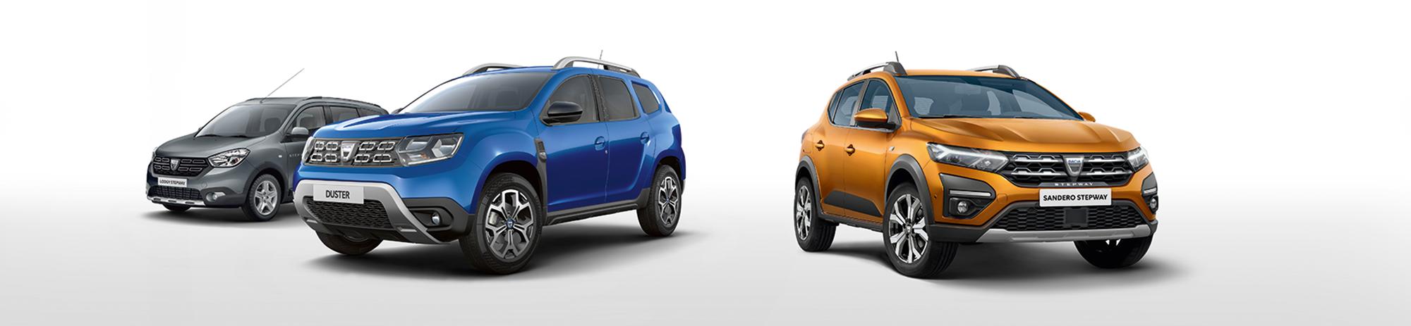 Dacia-Fahrzeugmodelle